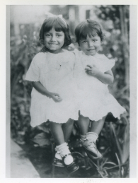24. 1930s - very young mary & josie