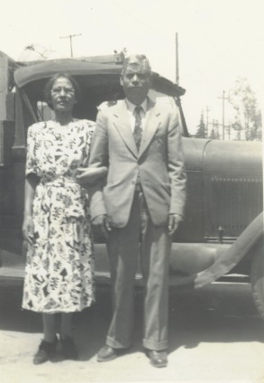 28. 1940s - grandmother & grandfather reyes.