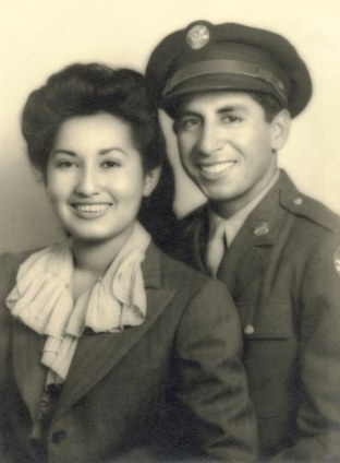 30. circa 1943 - maggie and joe (from the matt bustillos collection).