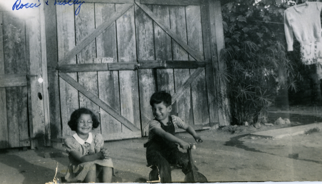 31. 1940s - reyes grandkids dolly and rocky