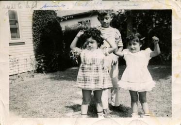 33. 1940s - reyes grandkids cece, susie and rocky