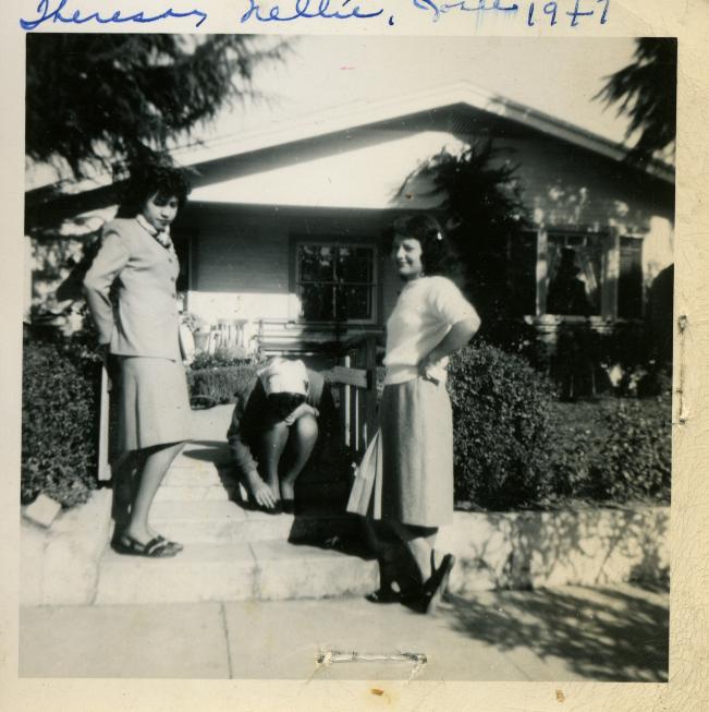 51. 1940s - theresa, nellie & josie