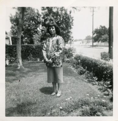 10. 1951 - pregnant josie