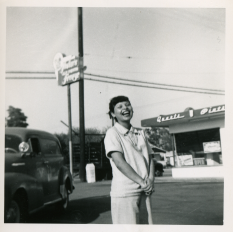 14. 1951 - pregnant josie