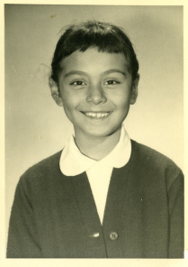 37. 1960s - kathie in elementary school.