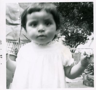 2. 1957-01 toddler michaela