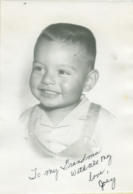 26. 1960s - my 1st autographed photo.