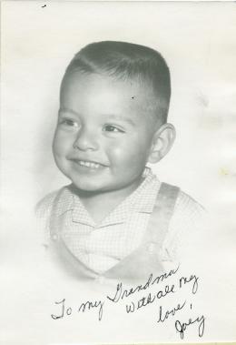 26. 1960s - my 1st autographed photo.
