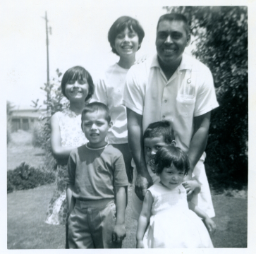 2. 1960s - joe, matt, joyce, mich, kathie & dad