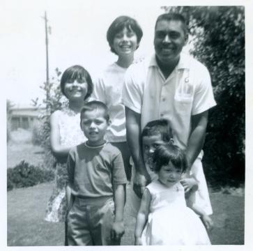2. 1960s - joe, matt, joyce, mich, kathie & dad