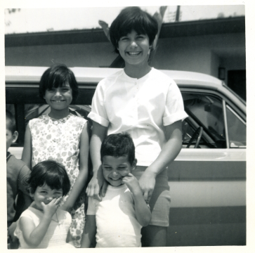 4. 1960s - joyce, matt, mich, kathie & half-joe.