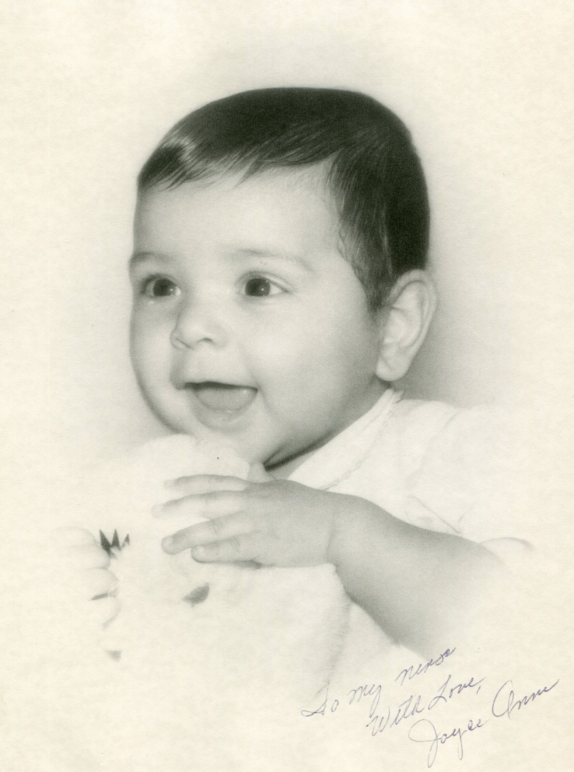 1. 1960s - Until this photo was found in 2014, we thought that there was no baby photos of Joyce