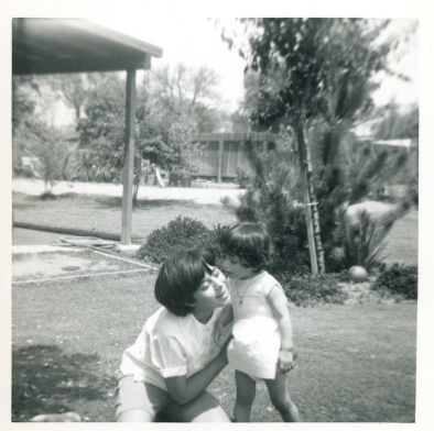 6. 1960s - kathie and baby joyce.