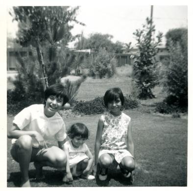 7. 1960s - kathie, baby joyce & mich.