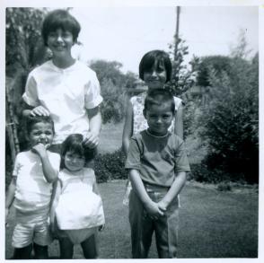 8. 1960s - matt, joyce, joe, kathie & mich.