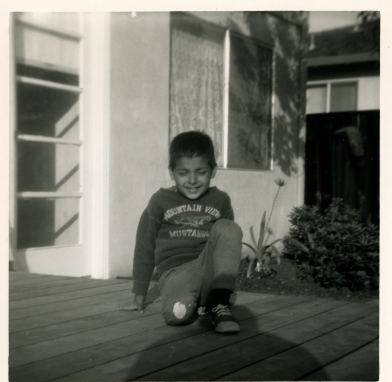 19. 1960s - matt on one knee.