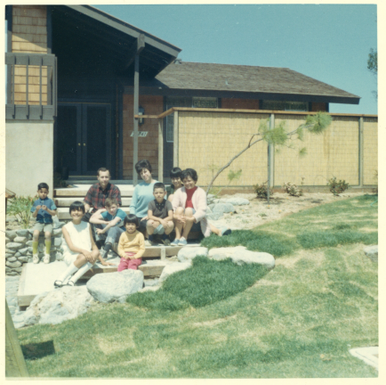 5. 1960s - front of mv house.