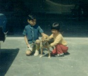 7. 1960s - matt & joyce & tinker.
