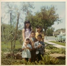 15. 1960s - joyce, joe, matt, kathie & mich.