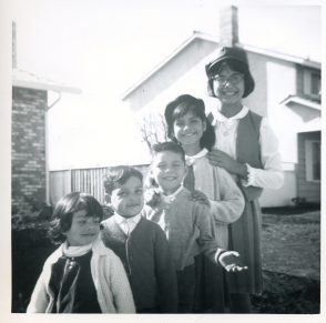 10. 1960s - bustillos brood from youngest to oldest (I don't know what I'm doing with my hands...).