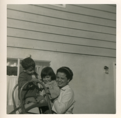 18. 1960s - matt, joyce & mom.