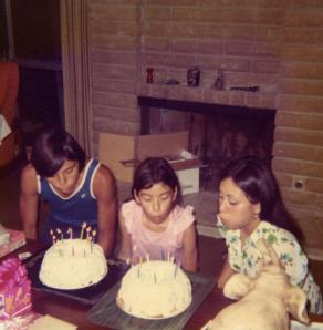 13. 1970s - joe, joyce & kathie's birthdays