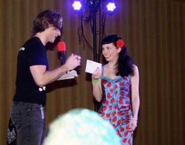 Tentacle Chris & Miss Pinupalooza 2012, Sunday O'Dare