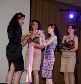 Miss Pinupalooza 2013 winner, Samantha DeBruhl