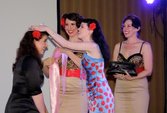 Samantha DeBruhl crowned Miss Pinupalooza 2013 by Sunday O'Dare