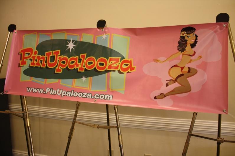 Pinupalooza 2013 Signage
