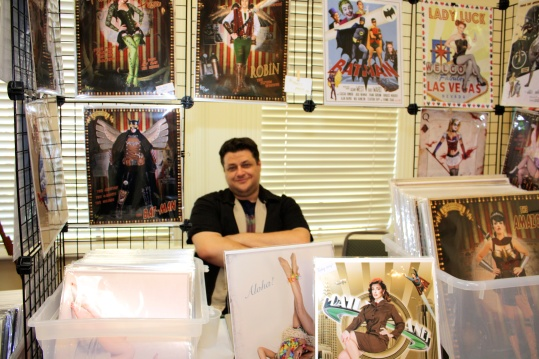 Al Abbazia's pin-up and retro-photo booth