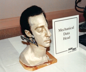 Star Trek: TNG props - Data's mechanical head