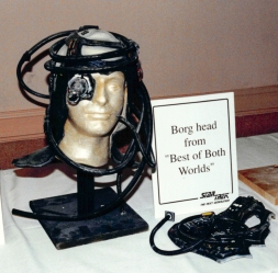 Star Trek: TNG props - Borg head