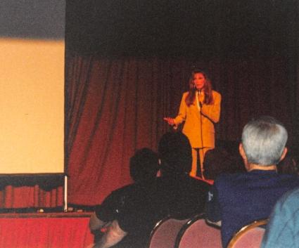 Star Trek TNG cast, Gates McFadden, addresses fan questions.