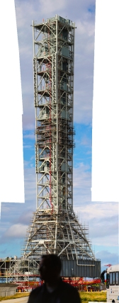 3:15PM - Mobile Launcher for the SLS panorama