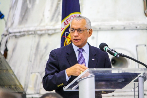 2:16PM - Charlie Bolden, NASA Administrator, sharing NASA's progress and plans
