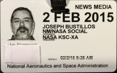NASA Social day-pass