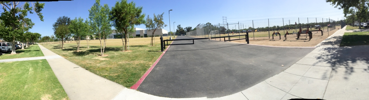 2015-05-02 Long Beach, CA. My old middle school, rebuilt and renamed.