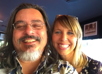 2015-05-03 West LA, CA. Visiting with my beautiful bestie, Christine Eaves.
