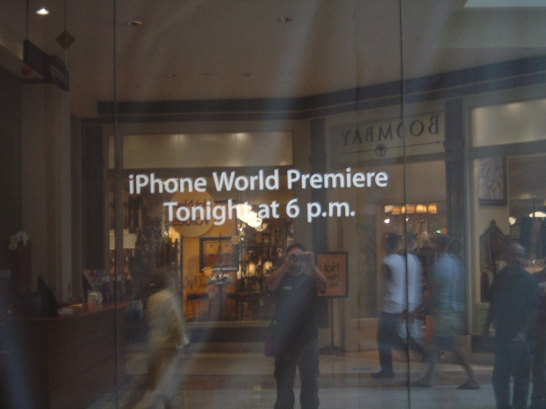 2007-06-29 iphone premier - 2