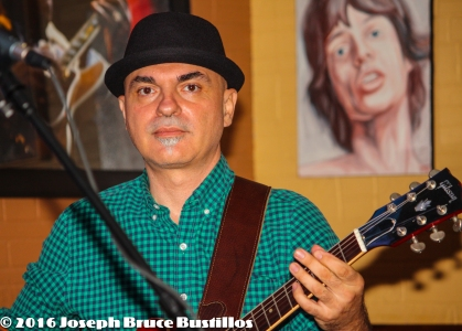 2016-01-08 Oak Hill Drifters at Smiling Bison: George Dimitrov serious.
