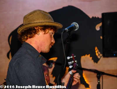 2016-01-08 Oak Hill Drifters at Smiling Bison: Tim Lancaster following along.