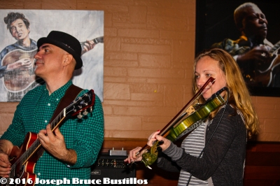 2016-01-08 Oak Hill Drifters at Smiling Bison: George Dimitrov &, Jessica Martens