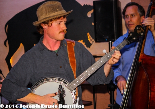 2016-01-08 Oak Hill Drifters at Smiling Bison: Tim Lancaster & Craig Roy