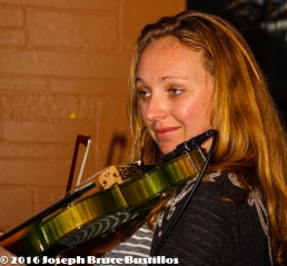 2016-01-08 Oak Hill Drifters at Smiling Bison: Jessica Martens is too cool...