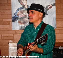 2016-01-08 Oak Hill Drifters at Smiling Bison: George Dimitrov