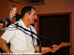 2016-01-08 Oak Hill Drifters at Smiling Bison: Happy Tom Cooper