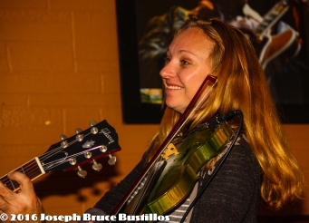 2016-01-08 Oak Hill Drifters at Smiling Bison: Jessica Martens