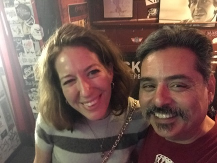 2017-07-12 Will's Pub (Orlando FL) with birthday girl, Rachel Decker