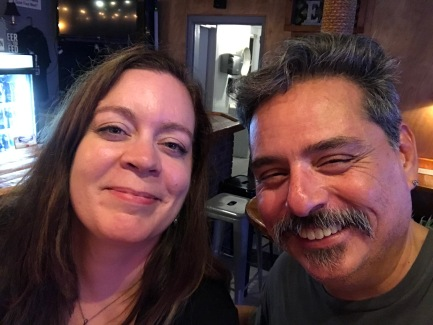 2017-07-12 Winnie's Tavern (Wilmington NC) with Heather Haas